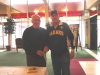 Sabres 1st Captain Floyd Smith with Rob Schilling